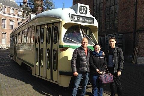 straßenbahn-touren-kommunikations-systeme-hop-on-hop-off fahrzeugen