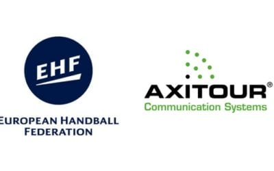 Axitour Kommunikation System unterschreibt einen dreijährigen Partnerschaftsvertrag mit der Europäische Handball Federation über Schiedsrichter-Kommunikation