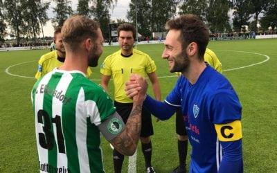 AXIWI Kommunikationssystems bereichert Arbeit Schiedsrichter Steffen Grimmeißen und seine Schiedsrichterassistenten auf dem Spielfeld