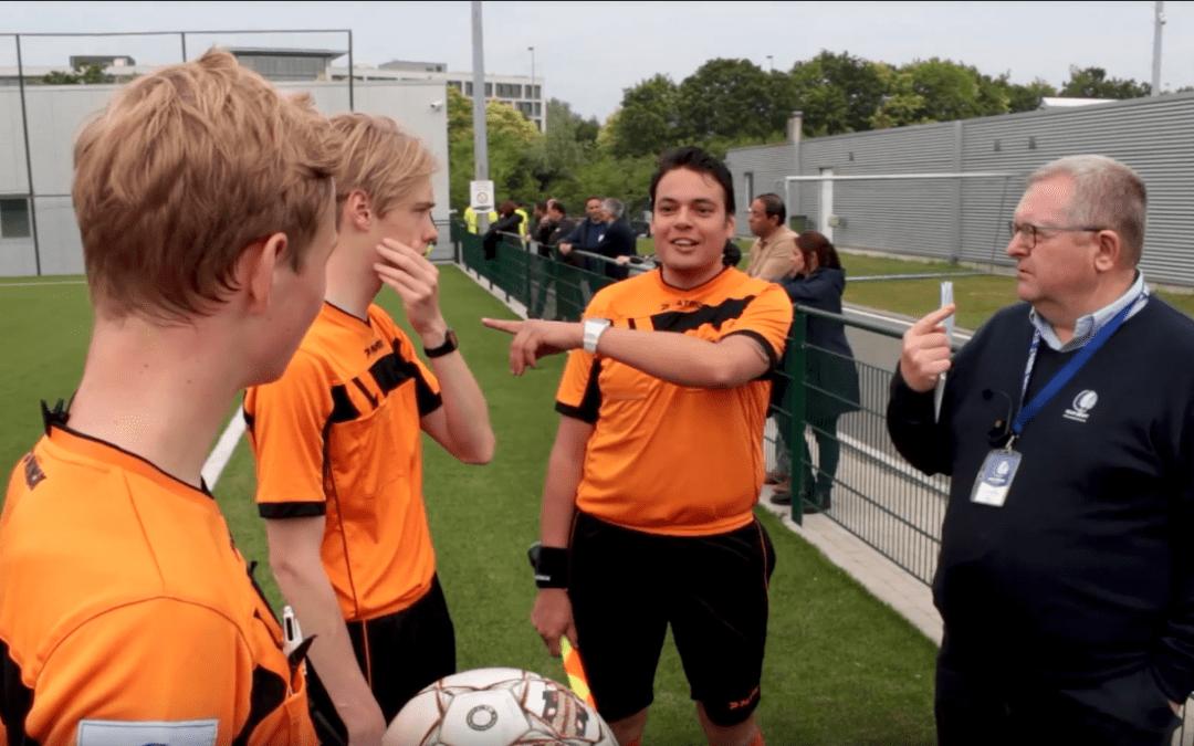 KAA Gent Referee Academy innoviert mit AXIWI